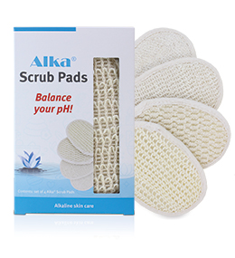 Alka® Scrub Pads: 4 Pieces