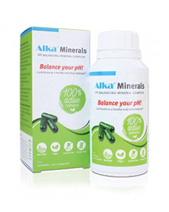 Alka® Minerals - 120 vega caps - English label